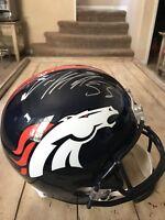 Von Miller Autographed/Signed Full Size Helmet Fanatics Denver Broncos SB Champ
