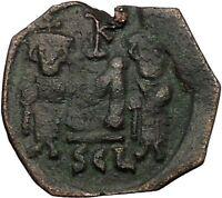 CONSTANS II Constantine IV Heraclius Tiberius Syracuse Byzantine Coin i51392