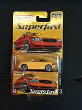 "MATCHBOX 2005 SUPERFAST #43 ""AUDI TT ROADSTER"" LIMITED EDITION k"