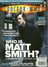 RARE Back Issue - DOCTOR WHO MAGAZINE #405 - Matt Smith - First Cover?