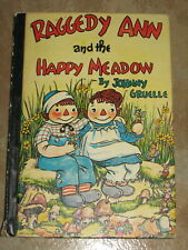 Raggedy Ann and the Happy Meadow by Johnny Gruelle 1961 USA