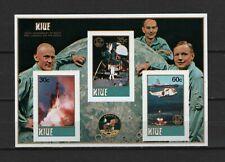 Niue - New Zeeland 1979 Yvert n° BL22 MNH imperf. Min. Sheet Space Apollo 11 RRR