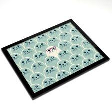 Mantel Individual De Cristal 20x25 Cm-Gafas sello Ilustración Student #15636