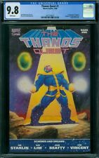 Thanos Quest 1 CGC 9.8 - White Pages