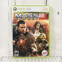 Mass Effect 2 Microsoft Xbox 360 2010 Brand New & Factory Sealed Shrink