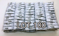 LOT 10/100X Type-C Fast Charging Cable For OEM Samsung Phone Android USB- C