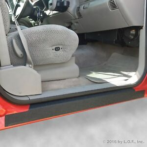 92-98 fits Chevy GMC C/K Crew Cab 4pc Door Sill Step Protect Threshold Shield