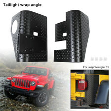 2x Side Rear Taillight Body Armor Cowl Guards Cover for Jeep Wrangler TJ 1997-06