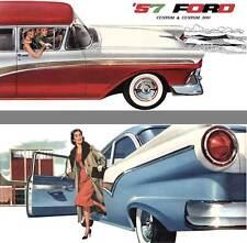 Ford 1957 - 57 Ford Custom & Custom 300