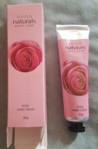 Avon Naturals Body Care Hand Cream - Rose
