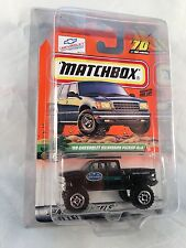 MATCHBOX 1999 #70 Chev Silv Pickup 4x4 - Mint to NM Card in Protective Case