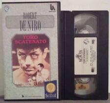 VHS FILM Ita Drammatico TORO SCATENATO de niro gli scudi ex nolo no dvd(VH36)