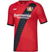 JAKO Bayer 04 Leverkusen Trikot Away KA Auswärtstrikot Herren rot/schwarz