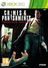 SHERLOCK CRIMES AND PUNISHMENTS JEU XBOX 360 NEUF