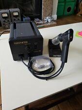 Hakko 470 Desoldering Station With 802 Desoldering Tool 120v Tested