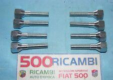 FIAT 500 F/L/R 126 KIT 8 BULLONI CONICI LUNGHI PER MONTAGGIO DISTANZIALI RUOTA
