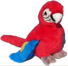 Papagei Ara ca 22 cm Plüschtier Stofftier Kuscheltier Plüsch Vogel Plüschpapagei