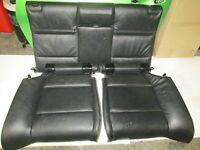 Genuine BMW E93 325i Convertible 2D 2010-2014 REAR SEATS BLACK LEATHER 9113027