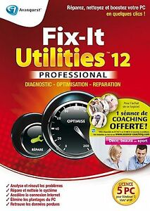 Fix-it utilities 12 professionnel - Windows 7 / XP / Vista / PC - NEUF