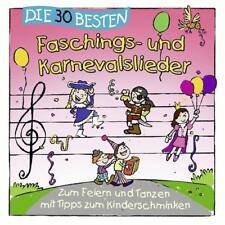 DIE 30 BESTEN FASCHINGS- UND KARNEVALSLIEDER CD Neu & eingeschweißt!!