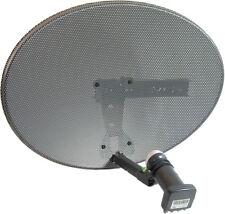 Zone 2 Dish Kit with OCTO 8 Way LNB for Sky, Freesat, Astra, Hotbird, Polesat