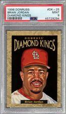 1996 Donruss Diamond Kings Brian Jordan #DK25 (09658/10000) PSA 9