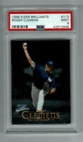 1999 Fleer Brilliants Roger Clemens #113! PSA MINT 9! YANKEES! YORK CARDS!