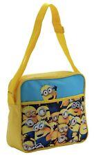 Minions Bag Messenger Satchel School Despicable Me Kids Childrens Book Bag Strap