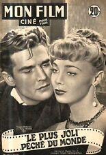 revue cine MON FILM N°276 georges marchal dany robin susan hayward