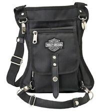Harley-Davidson Side Slinger 2-In-1 Shoulder Bag or Leg Holster 98223-BLACK
