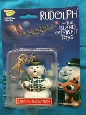 Sam the Snowman - Rudolph and the Island of Misfit Toys Clip-on