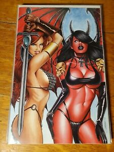 RED SONJA AGE OF CHAOS #3 MARK SPARACIO VIRGIN COVER DYNAMITE COMICS NM