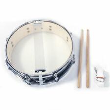 """Glarry High Grade 13""""x3.5"""" Inch Drums Snare Drumstick Set Black"""