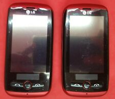 LOT OF 2 LG AN270 aka LG Exchange Slider phone with a QWERTY keyboard