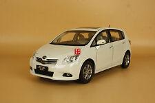 1/18 Toyota EZ MPV FUV VERSO white color diecast model car