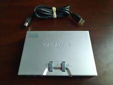 CREATIVE LABS SB0490 USB SOUND BLASTER LIVE 24-BIT EXTERNAL SOUND CARD