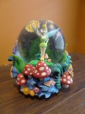 IDEO Disney Store Tinkerbell Peter Pan You Can Fly Fairy Music Snow Water Globe