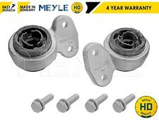 FOR BMW E46 1998-2005 MEYLE HD FRONT WISHBONE SUSPENSION ARM REAR BUSHES