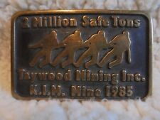 New listing Vintage Taywood Mining Inc. K.I.M. Mine 1985 Solid Brass Limited Edition No. 027