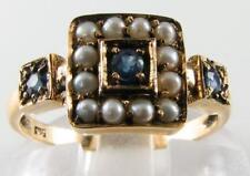 Pearl Engagement Fine Gemstone Rings