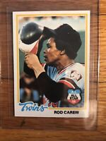 1978 Topps Rod Carew Minnesota Twins #580 Baseball Card