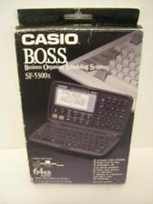 NEW CASIO B.O.S.S. SF-5300 X Business Organizer Scheduling System 64 Digital NIB
