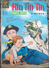 1968 FUMETTO 'RIN TIN TIN & RUSTY' EDITRICE CENISIO. NUMERO DOPPIO. N. 96