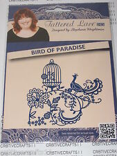 "TATTERED LACE DIES ""BIRD OF PARADISE"" TTLD639 FLOURISH - CARDS & SCRAPBOOKING"