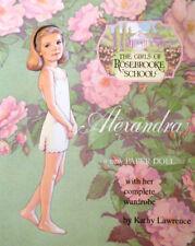 ROSEBROOKE SCHOOL ALEXANDRA Paper Doll Book MINT CONDITION EBAY BEST PRICE!