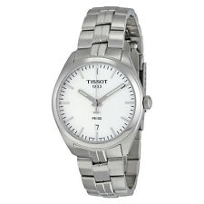 Tissot PR100 Silver Dial Stainless Steel Mens Watch T1014101103100