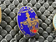 PINS PIN BADGE ARMEE MILITAIRE DOUANES NANCY