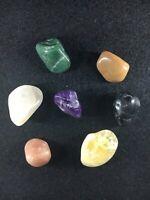 Chakras/Energy stones, 7 Cristaux différents pour Harmonie - Pocket Set 4