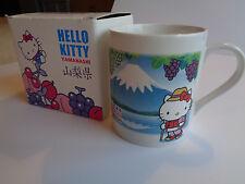 Hello Kitty Sanrio Yamanashi Coffee Tea Mug World Heritage Site 2014 Japan New