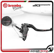 Brembo Racing front master cylinder brake 19RCS Corsacorta with bracket+oil tank